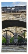 Railroad Bridges Beach Towel