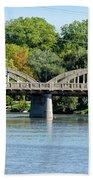 Rainbow Arch Bridge Beach Towel