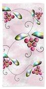 Rainbow Berries Beach Towel