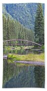 Rainbow Bridge Beach Towel