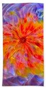 Rainbow Coronal Beach Towel
