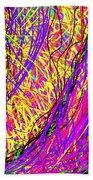 Rainbow Divine Fire Light Beach Sheet