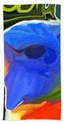 Rainbow Lorikeet Beach Towel