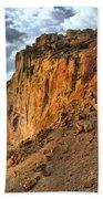 Rainbow Rocks And A River Beach Towel