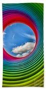 Rainbow Sky Beach Towel