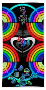 Rainbows End Beach Towel