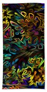 Rainbows In The Forest Beach Towel