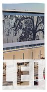 Raleigh At The Shimmer Tree Beach Towel