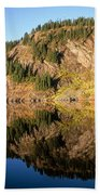 Rampart Ridge In Rachael Lake Beach Towel