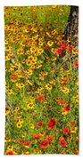 Ranch Wildflowers And Trees 2am-110522 Beach Towel