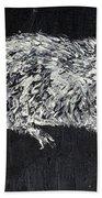 Rat - Oil Portrait Beach Towel