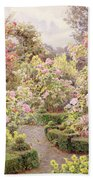 Raundscliffe - Everywhere Are Roses Beach Towel