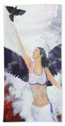 Raven Freed Beach Towel