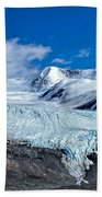 Raven Glacier 2 Beach Towel