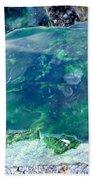 Raw Jade Rock Beach Towel