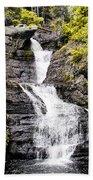 Raymondskill Falls In Milford Pa Beach Towel