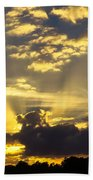Rays Of Sunlight Beach Towel