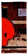 Razorback Country Beach Towel by Benjamin Yeager