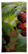 Razzleberries Beach Towel