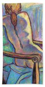 Reaching Out In Color Beach Towel