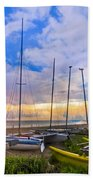 Ready For Sails Beach Towel by Debra and Dave Vanderlaan