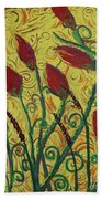 Ready To Bloom Beach Towel