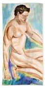 Rebirth Of Apollo Beach Towel