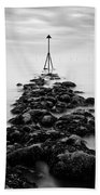 Receding Tide Beach Towel