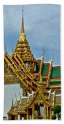 Reception Hall At Grand Palace Of Thailand In Bangkok Beach Towel