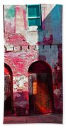 Red Abandonment Beach Towel