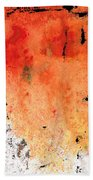 Red Abstract Art - Taking Chances - By Sharon Cummings Beach Towel