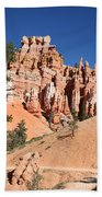 Red And White Rocks - Bryce Canyon Beach Towel