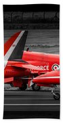 Red Arrows Threesome Take-off Beach Towel