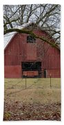 Red Barn Series Picture A Beach Towel