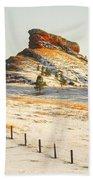 Red Butte Beach Towel