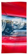 Red Charger 1521 Beach Towel
