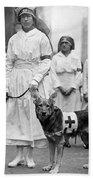Red Cross Parade, 1920 Beach Towel