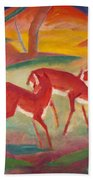 Red Deer 1 Beach Towel