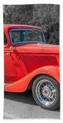 Red Ford 3d21740 Beach Towel