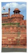 Red Fort New Delhi India Beach Sheet