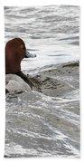 Red Head Pride Beach Towel