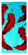 Red Hot Chili Peppers Beach Towel