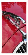 Red Jaguar 3.8 Beach Towel