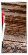 Red Lipstick Beach Towel