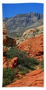 Red Rock Canyon 6 Beach Towel