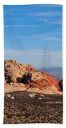 Red Rock Canyon Las Vegas Beach Towel