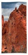 Red Rock Cluster Beach Towel