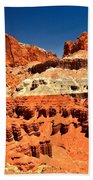 Red Rock Ridges Beach Towel