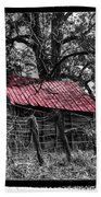 Red Roof Beach Towel