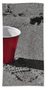 Red Solo Cup Beach Towel